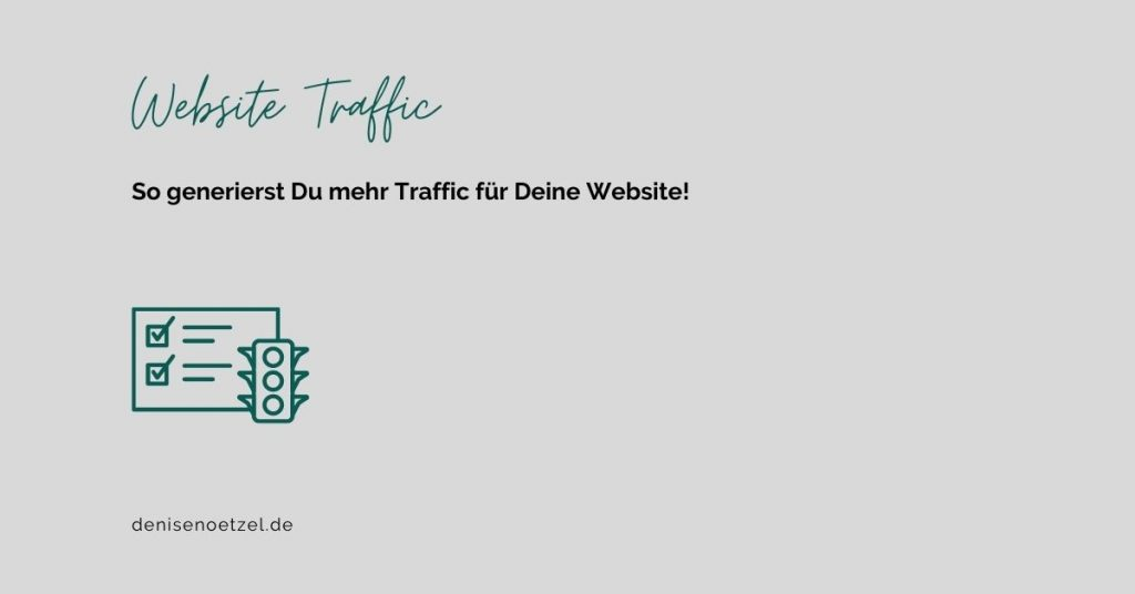 Website Traffic generieren
