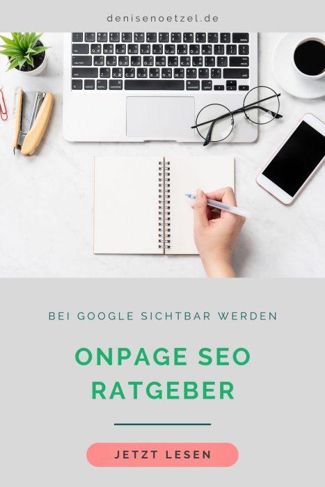 OnPage SEO Ratgeber